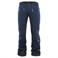 Elevenate Woman Zermatt Ski Pant Twilight Blue Mountain Pro Shop Val d'isère
