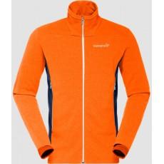 Norrona Falketind Warm 1 Jacket Men Scarlett Ibis Mountain pro Shop Val d'isère