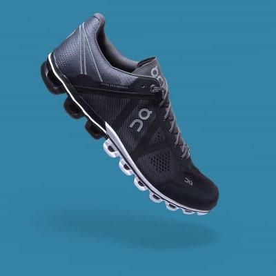 On Running Cloudflow Men Black / Asphalt Mountain Pro Shop Val d'isère