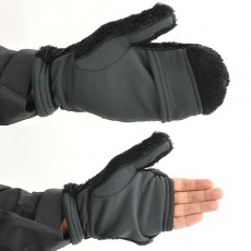 High Loft Magic Mitten Black