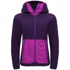 Elevenate W BdR Insulation Jacket Black Berry