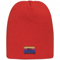 Elevenate Logo Beanie Red Glow