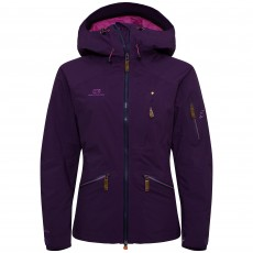 Elevenate Woman Zermatt Ski Jacket Blackberry