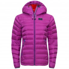 Elevenate Agile W Down Jacket Purple Wine