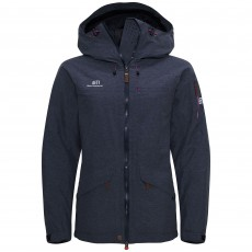 Elevenate W Brevent Jacket Dark Navy Melange