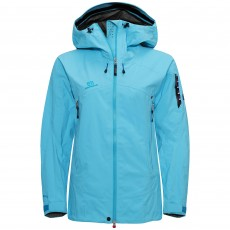 Elevenate Woman Bec de Rosses Jacket Aqua Blue
