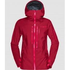 Norrona Lofoten Women GoreTex Pro Jacket Rhubarb