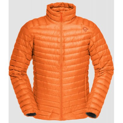 Norrona Lofoten super lightweight down jacket hot saphire
