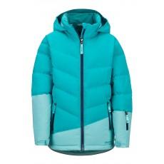 Marmot Girl's Slingshot Jacket Blue Tile / Aquarelle