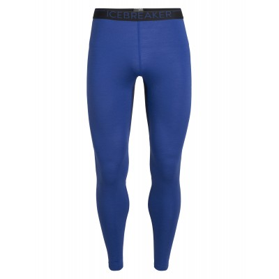 Icebreaker Men Winter Zone Leggings Surf / Midnight Navy