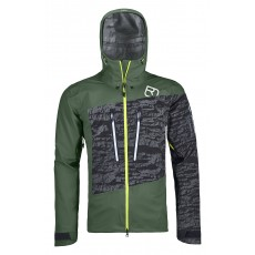 Ortovox Guardian Shell Jacket Men Green Forest