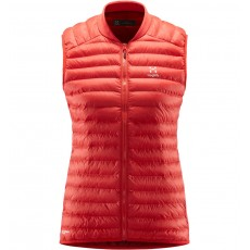 Haglöfs Essens Mimic Vest Women Hibiscus Red / Brick Red