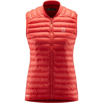 Haglöfs Essens Mimic Vest Women Hibiscus Red / Brick Red