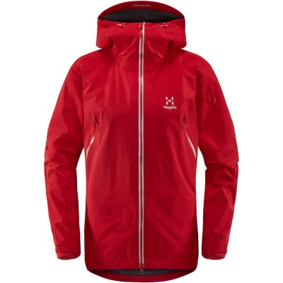 Haglöfs Couloir Jacket Women Rich Red