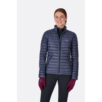 Rab Microlight Jacket Women Steel / Passata