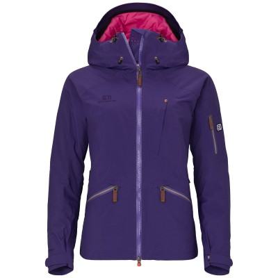Elevenate Woman Zermatt Ski Jacket Dark Purple