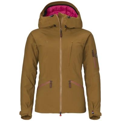 Elevenate Woman Zermatt Ski Jacket Pecan Brown
