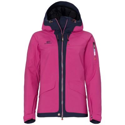 Elevenate W Brevent Jacket Dark Rich Pink