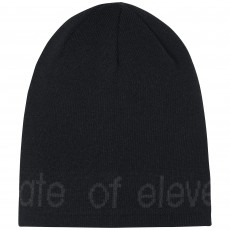 Elevenate Logo Beanie Black