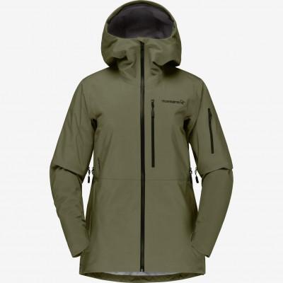 Norrona Lofoten Goretex Jacket Women Olive Night