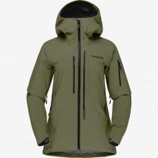 Norrona Lofoten Goretex Pro Jacket Women Olive Night