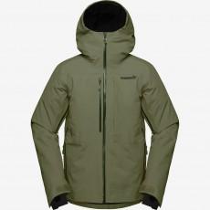 Norrona Lofoten Gore Tex Insulated Jacket Men Olive Night