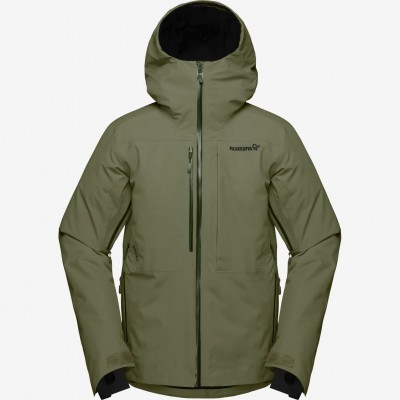 Norrona Lofoten Gore Tex Insulated Jacket Men Olive Night
