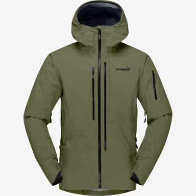 Norrona Lofoten Goretex Pro Jacket Olive Night